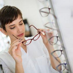 Rozmiary okularów